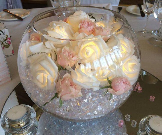 led-roses