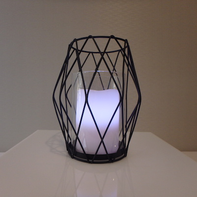 diamond-candle-holder-black